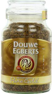 Café soluble de Douwe Egberts Or pur