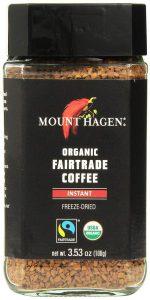 Gel de café soluble séché au mont Hagen