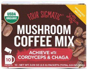 Café aux champignons avec cordyceps