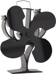 VODA Nouveau ventilateur de poêle à chaleur à 4 pales conçu