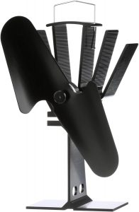 ventilateur de poêle à bois chauffé par Ecofan
