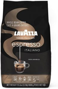 Café Expresso Lavazza Caffe Avec Grains Entiers