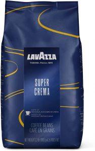 Lavazza Super Crema Mélange de grains de café entiers