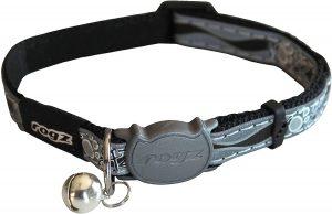 Rogz CATZ Small 3 / 20,3 cm Night Cat Safeloc Breakaway réglable Clip