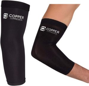 Copper Compression Elbow Pads