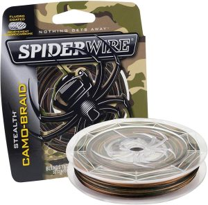 Spiderwire SCS6G-125 Stealth, 125 verges / 6 livres