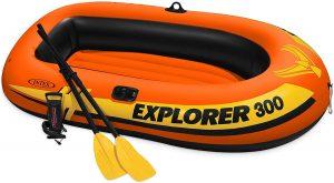 Bateau pneumatique Intex Explorer 300 pour la pêche