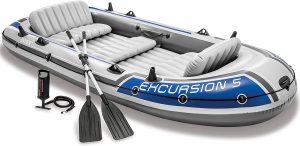 Bateau gonflable d'excursion Intex pour la pêche