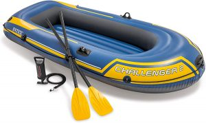 Bateau pneumatique Intex Challenger 3 pour la pêche