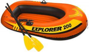 Bateau pneumatique Intex Explorer 200 pour la pêche