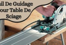 Rail De Guidage Pour Table De Sciage