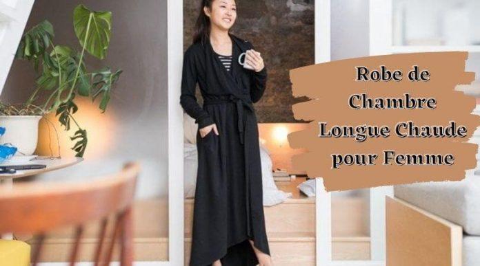 Robe de Chambre Longue Chaude pour Femme
