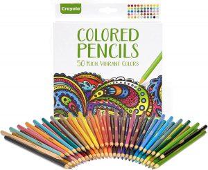 Crayons de couleur effilés Crayola pour adultes