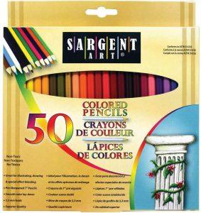 Crayons de Couleur Sargent Art