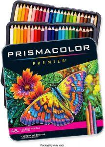 Crayons de Couleur Prismacolor Premier pour Adultes
