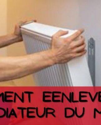 Comment Eenlever un Radiateur du Mur