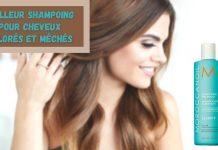 Meilleur Shampoing pour Cheveux Colorés et Méchés