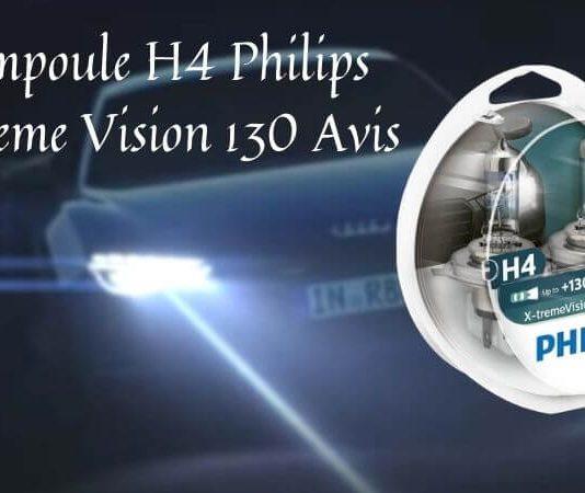 Ampoule H4 Philips Xtreme Vision 130 Avis
