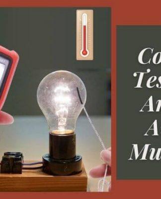 Comment Tester Une Ampoule Avec un Multimetre