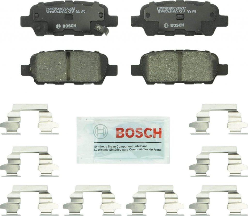 Jeu de plaquettes de Frein Bosch BC905 QuietCast