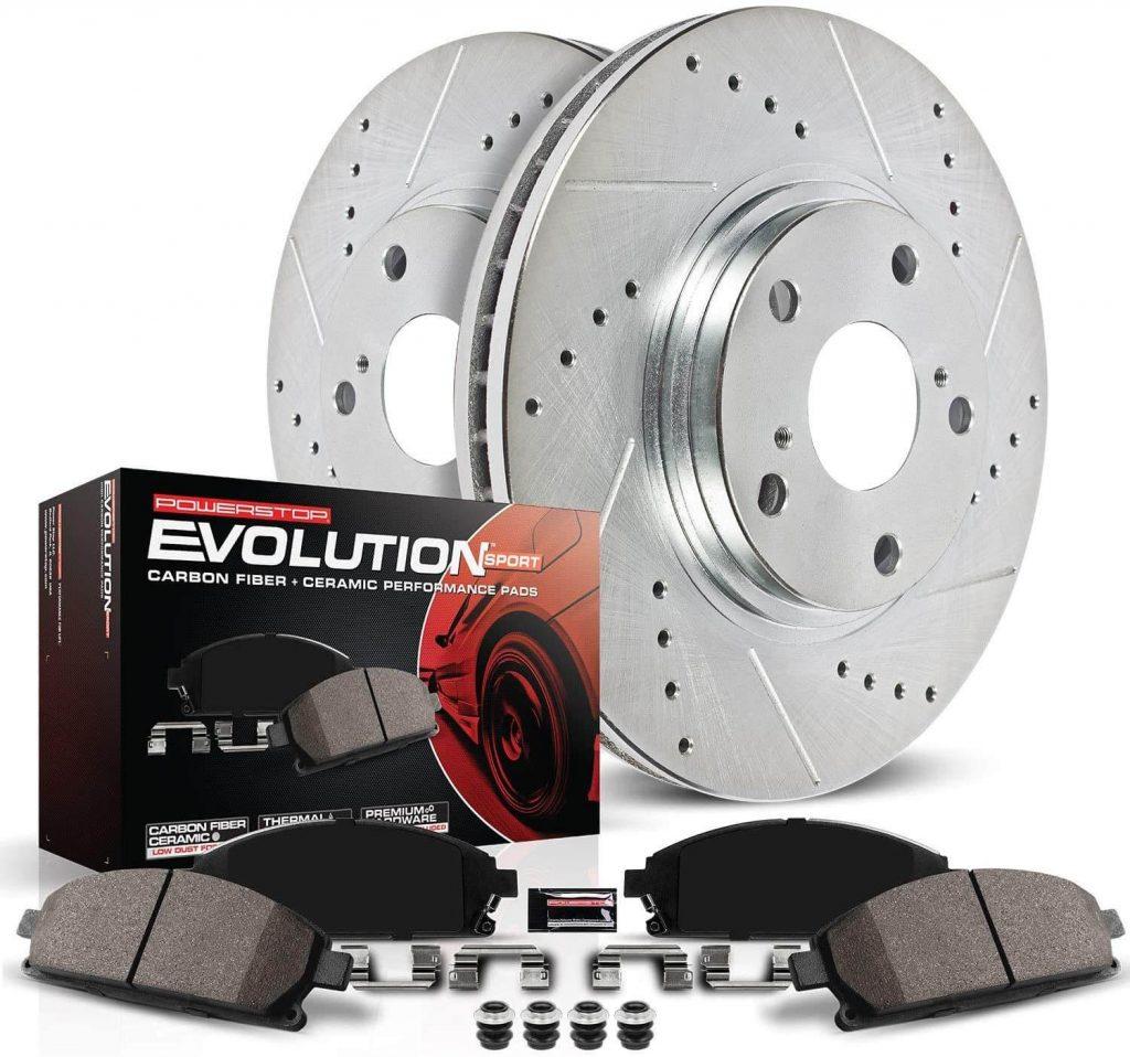 Power Stop K3053 Front Z23 Evolution Brake Kit