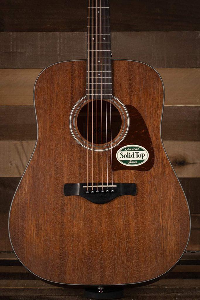 Guitare acoustique haut de gamme Ibanez AW54CE