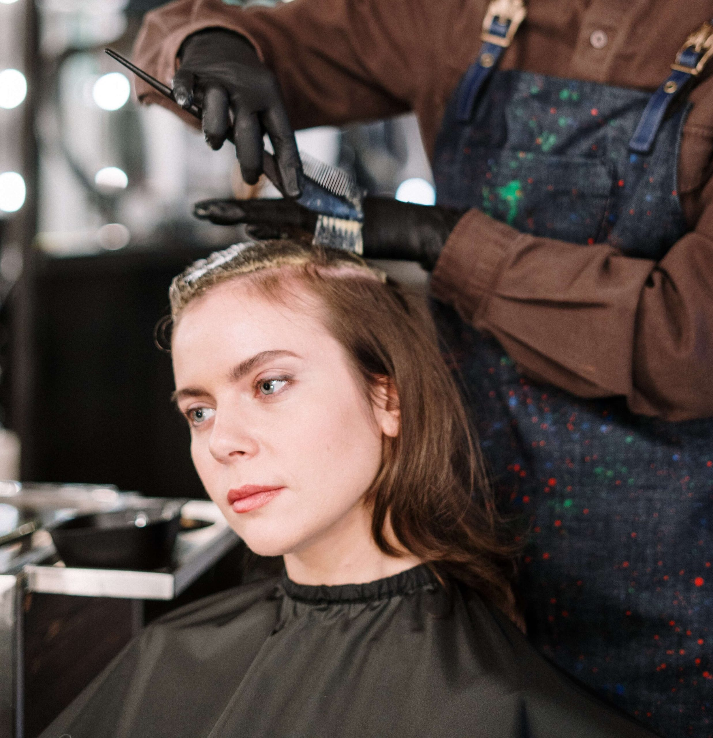 Faites-vous teindre les cheveux