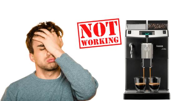 Ma machine à café Saeco ne fonctionne pas