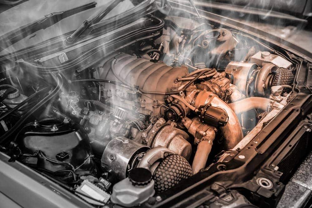 Surchauffe du moteur