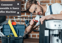 comment disassemble a saeco coffee machine
