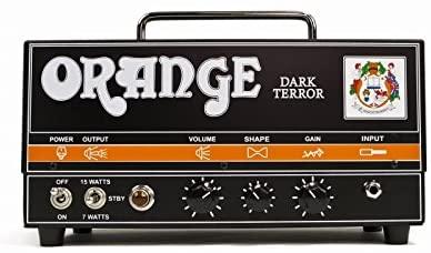 Ampli Orange Dark Terror Head Black