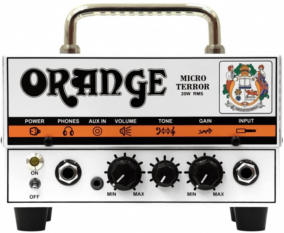 Amplificateur de tête de guitare Orange Rocker 15 Terror