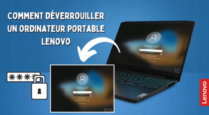 Comment déverrouiller un ordinateur portable Lenovo