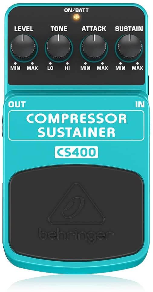Compresseur de guitare BEHRINGER CS400
