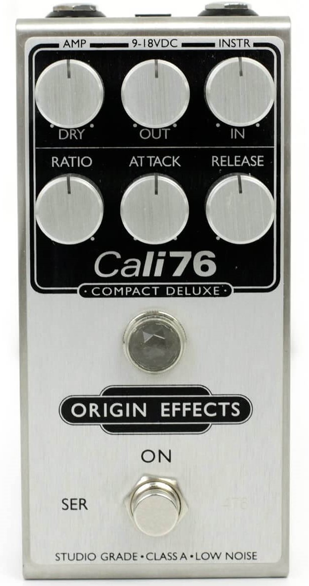 Compresseur de guitare Origin Effects Cali76
