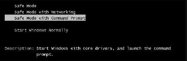 Déverrouiller le mot de passe de l'ordinateur portable Lenovo avec l'invite de commande (2)