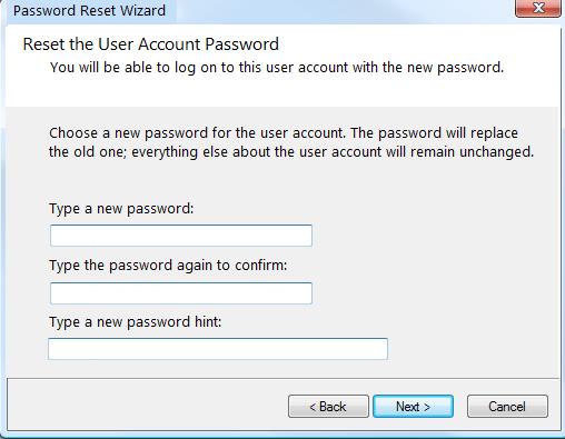 Déverrouillez un ordinateur portable Lenovo verrouillé avec un disque de réinitialisation de mot de passe (2)
