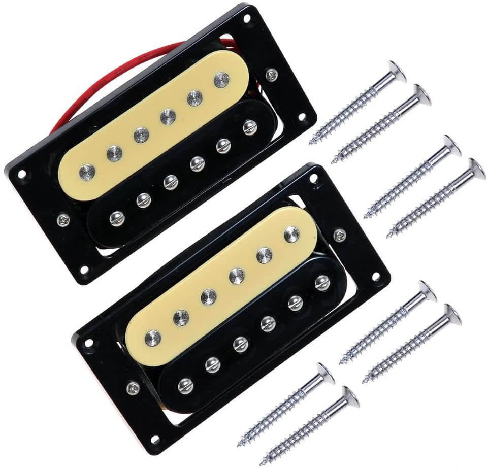 Lot Music Micros Guitare Electrique Zebra