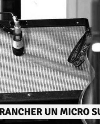 comment brancher un micro sur un ampli